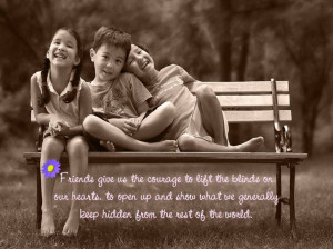 Quotes About Life And Love: Happy Children Picture And The Quote ...