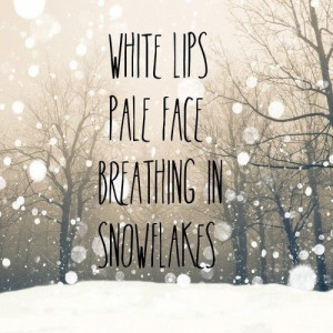 Winter quotes sayings snowflakes beautiful