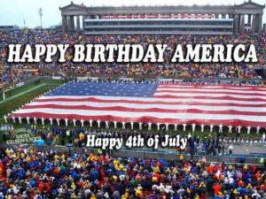 Happy birthday America, Happy 4th of july