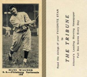 Honus Wagner Baseball Card Value