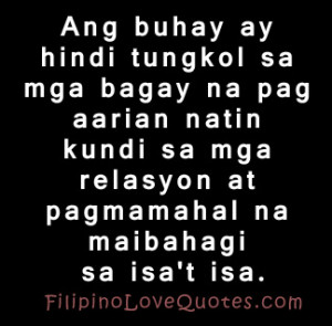 love quotes about life tagalog and english quotes best tagalog broken ...