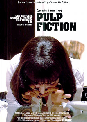 film mine pulp fiction Poster Quentin Tarantino Uma Thurman Mia ...