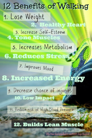 12 benefits of walking walking provides an easy exercise that has the ...