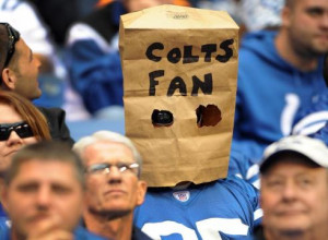 Colts fans are missing franchise quarterback Peyton Manning as the ...