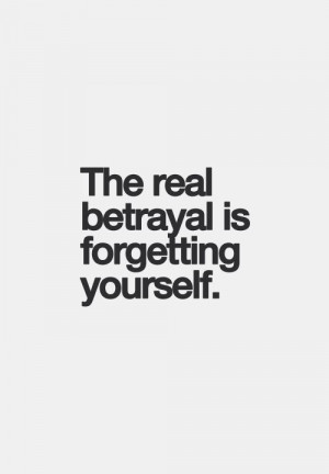 did that once. It is the worst betrayal of all. Never again!