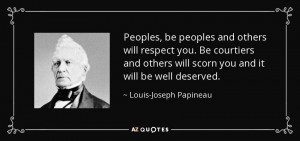 Louis-Joseph Papineau Quotes
