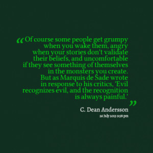 Quotes About: Monsters