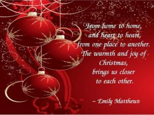 Family Christmas Quotes Sayings