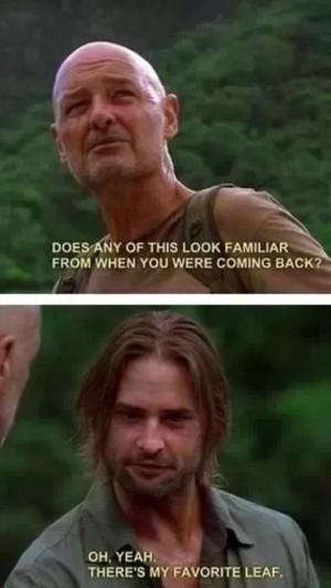 Locke and Sawyer