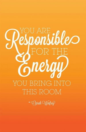 Where's your energy?