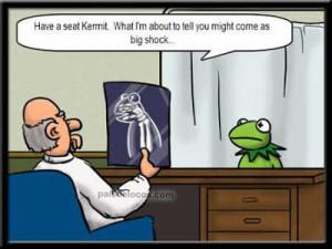 Kermit the frog joke