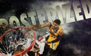 2014 Paul George Indiana Pacers NBA Wallpaper