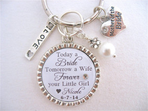 - Mother of the BRIDE Gift, Mother of the Groom BRIDAL Jewelry Quote ...