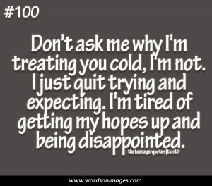 Tired of life quotes