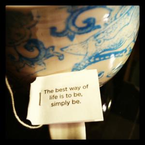 yogi tea quote best way of life