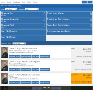QuoteValet Web is chock full of features that will give you a more ...
