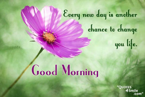 good morning inspirational quotes and good morning sms to give you ...