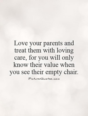 Quotes About Loving Your Parents