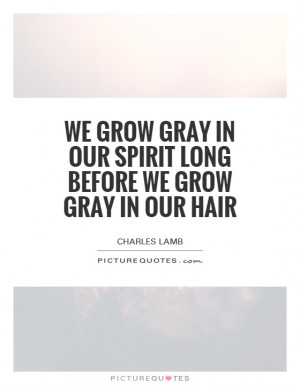 Quotes About Gray Hair