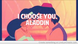 Princess Jasmine And Aladdin