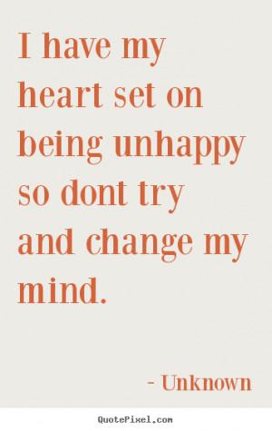 Unhappy Life Q...