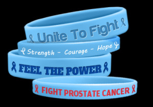 Prostate Cancer Awareness wristbands require a minimum of 50 to order ...