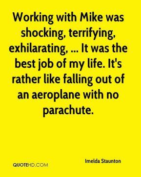 Imelda Staunton - Working with Mike was shocking, terrifying ...