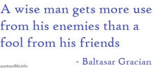 Friends And Enemies Quotes