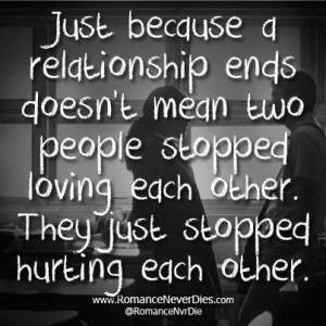 End Of A Relationship Quotes