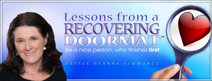 Lessons from a Recovering Doormat