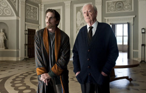 Christian Bale as Bruce Wayne and Batman and Michael Caine as Alfred ...