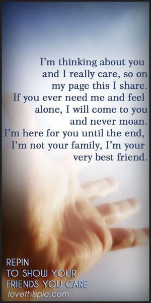 Care Quotes Friendship Quote Inspirational Inspiration For