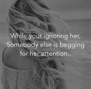 Looking for attention - quotes Photo