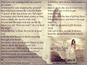 Dancer Poems