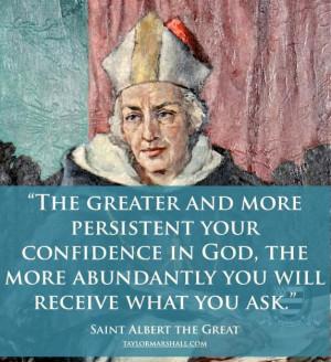 St. Albert the Great: One Holy Catholic Apostolic, Catholic Saint ...