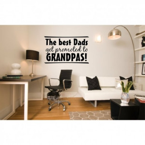 The Best Dads Get Prometed to Grandpas! ~ Father Quote