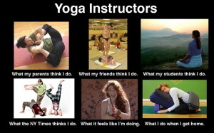What People Think About Yoga Teachers (Funny)