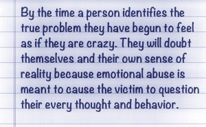 Psychological Abuse | Emotional Abuse | Motivatings and Sayings