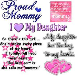 NOTE OF LOVE♪♫♥: ♥PROUD MOMMY