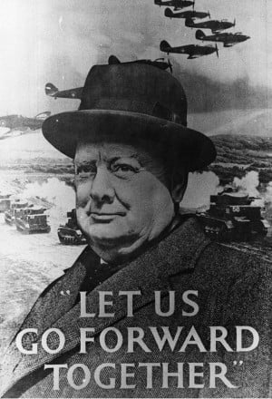 was winston churchill a great wartime Subtitled - the wartime speeches of winston churchill this cd contains the  most famous & inspiring speeches made by britain's greatest individual, the.