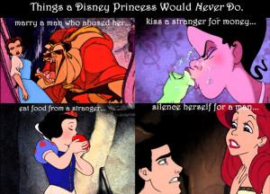 Disney Princess Things a Disney Princess Would NEVER Do