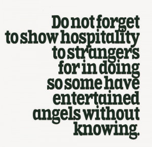 These are the positive hospitality quotes Pictures