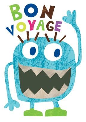 Bon Voyage Cards Message
