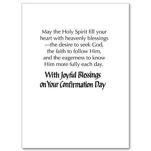 God Bless You, Grandchild On Your Confirmation - Confirmation Card ...