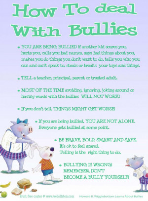 Teaching Your Kids How To Deal With Bullies