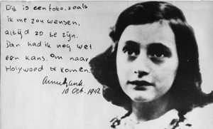 "Anne Frank has been voted ""Most Inspiring Woman"" in a survey to ..."