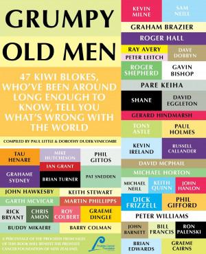Happy book launch for Grumpy Old Men