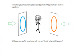 ... are some funny weird and hilarious images made by fans of portal 2