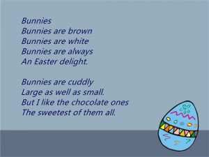 Famous Happy Easter 2015 Poems For Preschoolers
