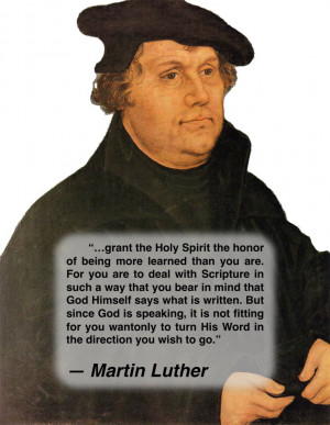 Martin Luther, Grant the Holy Spirit... by NixSeraph